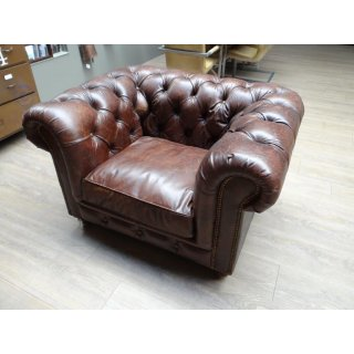 Chesterfield Ledersessel Kensington